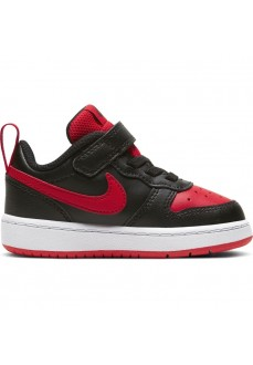 Zapatilla Niño/a Nike Court Borough Negro/Rojo BQ5453-007