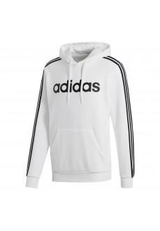 Sudadera Hombre Adidas Essentials 3 Rayas Blanco/Negra FI0806 | scorer.es