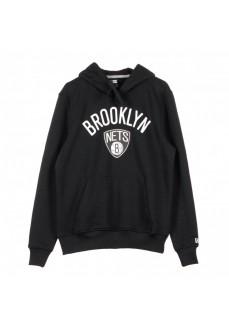 Sudadera Hombre New Era Brooklyn Nets Negro 11530761 | scorer.es