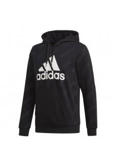 Adidas Men's Sweatshirt Favorites Graphic Black GJ6597 | Men's Sweatshirts | scorer.es