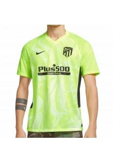 Nike Men's T-Shirt Atlético Madrid 2020/21 Yellow CK7813-703   Football clothing   scorer.es