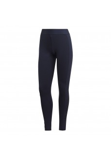 Adidas Women's Tights Must Haves Stacked Logo Navy Blue GC6945