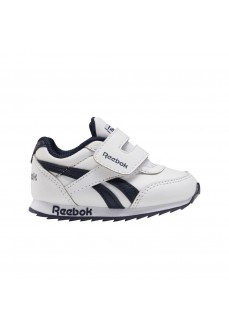 Reebok Kids' Trainers Classic Jogger 2.0 White/Navy Blue FW9006