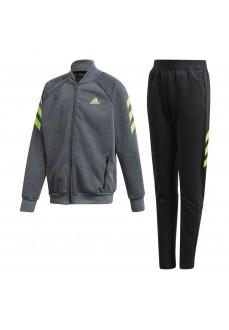 Adidas Kids' Tracksuit XFG Gray/Black GE0721 | Tracksuits for Kids | scorer.es