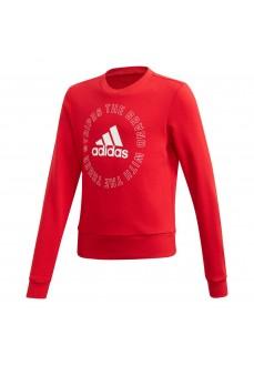 Adidas Kids' Sweatshirt Bold Crew Red GE0069 | Kids' Sweatshirts | scorer.es