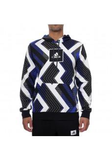 Adidas Men's Sweatshirt Allover Print Several Colors FS4318 | Men's Sweatshirts | scorer.es