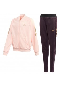 Adidas Girl's XFG Track Suit Pink/Maroon GE0715