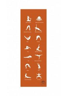 Colchoneta Atipick Yoga 180*60*0.05Cm Naranja | scorer.es