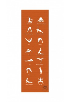 Atipick Mat Yoga 180*60*0.05Cm Orange | Training | scorer.es