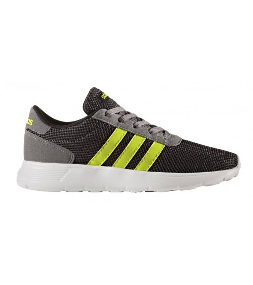 Zapatillas Adidas Lite Racer Negro/Blanco/Amarillo | scorer.es
