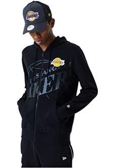 New Era Men's Sweatshirt Los Angeles Lakers Black 12485690