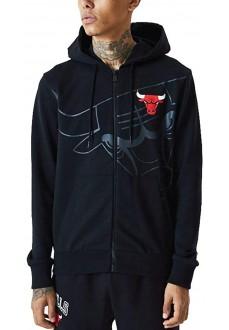 New Era Men's Sweatshirt Chicago Bulls Black 12485691