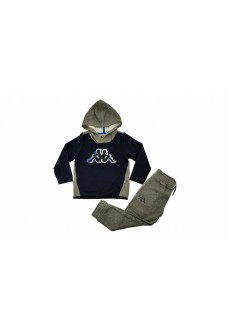 Kappa Kids' Tracksuit Brooks Navy Blue/Gray 3115HSW-BNG