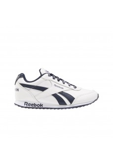 Reebok Royal Classic Jogger Kids' Trainers 2.0 White/Navy Blue FW9003