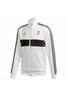 Adidas Men's Juventus 3 Stripes Sweatshirt White/Black FR4221