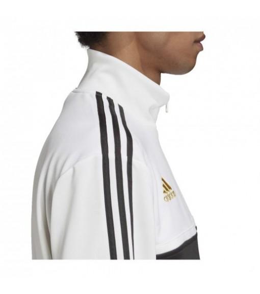 Sudadera Hombre Adidas Juventus 3 Rayas Blanco/Negro FR4221 | scorer.es
