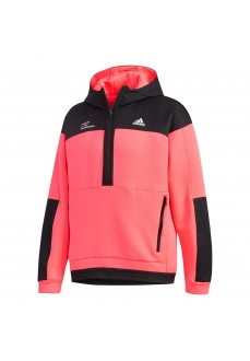 Adidas Men's Tech Doubleknit Pullover Pink/Black GH4813