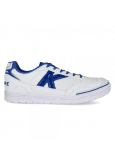 Kelme Men's Trueno Indoor Football Trainers White/Royal 55876-0704 | Men's Football Boots | scorer.es