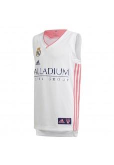 Camiseta Niño/a Adidas Rreal Madrid 20/21 Blanco/Rosa GI4606