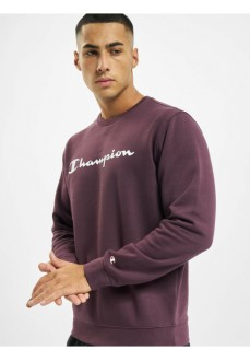 Champion Men's Sweatshirt 214744-VS503-PPE Dark Red | Men's Sweatshirts | scorer.es