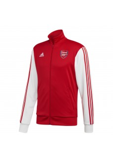 Adidas Men's Arsenal 3-Stripes Sweatshirt Red/White FQ6941