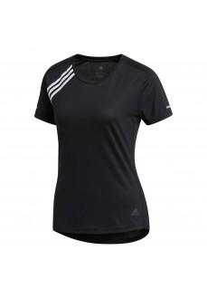 Camiseta Mujer Adidas 3 Bandas Negra FK1602 | scorer.es