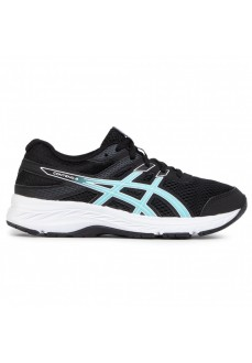 Asics Kids' Contend Trainers 6 Black/Blue 1014A086-003 | Running shoes | scorer.es