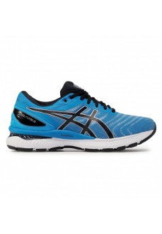 Asics Men's Trainers Gel Nimbus 22 Blue/Black 1011A680-405 | Running shoes | scorer.es