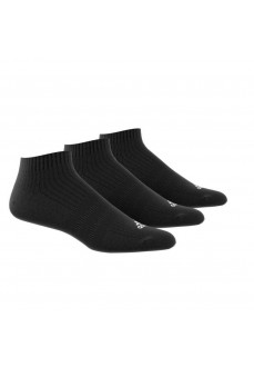 Calcetines Adidas bajo Negro Pack 3 AA2280