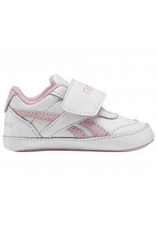 Reebok Royal Classic Jogger Trainers White/Pink FW8996 | Kid's Trainers | scorer.es