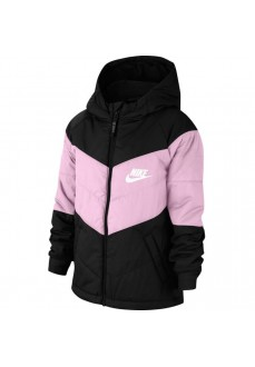 Nike Kids' Synthetic Coat Fill Black/Lilac CU9157-011