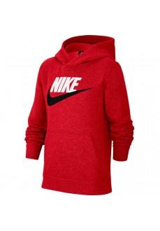 Sudadera Niño/a Nike Nsw Club +Hbr Pro Rojo CJ7861-657 | scorer.es