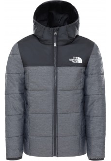 The North Face Kids' Perrito Coat Black/Gray NF0A4TJGDYY1