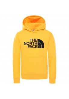 The North Face Kids' Drew Peak Sweatshirt Yellow NF0A33H456P1