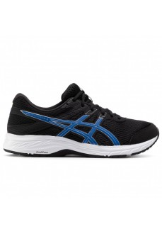 Asics Men's Gel -Contend 6 Trainers Black/Blue 1011A667-005