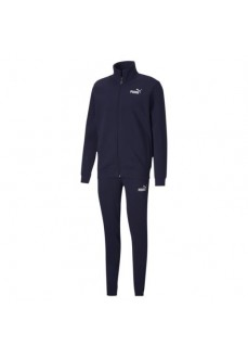 Puma Men's Clean Sweat Tracksuit Navy Blue 583598-06
