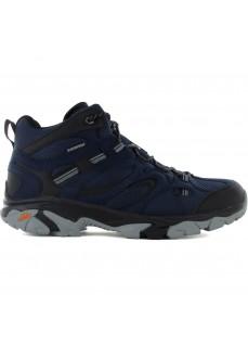 Zapatillas Hombre BHi-tec Ravus Vent Lite Mid Azul/Negro H007010031