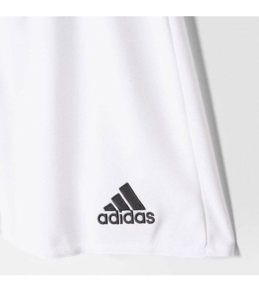 Pantalón corto Adidas Parma 16 Blanco/Negro | scorer.es