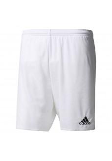 Pantalón corto Adidas Parma 16 Blanco/Negro