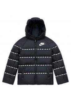 Nike Kids' Sportswear Coat Black/White CU9154-010