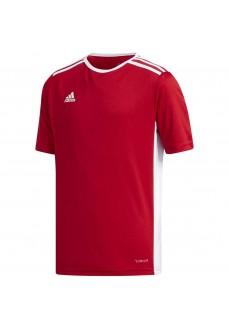 Camiseta Niño/a Adidas Entrada 18 Rojo/Blanco CF1050 | scorer.es