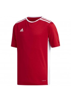 Adidas Kids' Entrada 18 T-Shirt Red/White CF1050 | Football clothing | scorer.es