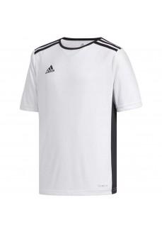 Camiseta Hombre Adidas Entrada 18 Blanco/Negro CF1044