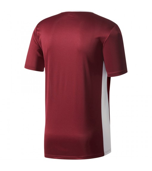 Camiseta Niño/a Adidas Entrada 18 Jsy Granate/Blanco CE9564   scorer.es