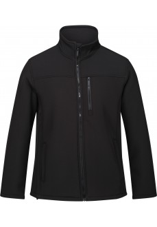 Regatta Men's Soft Shell Conlan II Black RML196-808 | Regatta Men's Sweatshirts | scorer.es