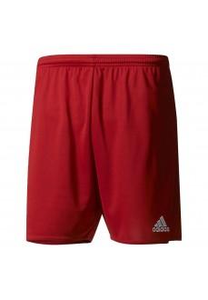 Pantalón corto Adidas Parma Rojo/Blanco