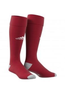 Calcetines de fútbol Adidas Milano Granate/Blanco