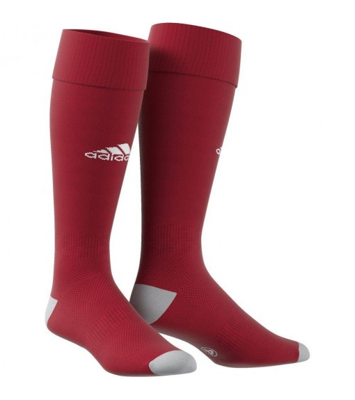 Adidas Milano Maroon/White Football Socks | Football Accessories | scorer.es