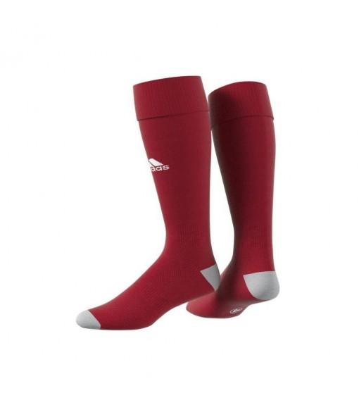 Adidas Milano Maroon/White Football Socks   Football accessories   scorer.es
