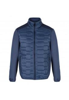 Regatta Men's Clumber Hybrid Coat Blue RMN157 D4Y | Coats for Men | scorer.es